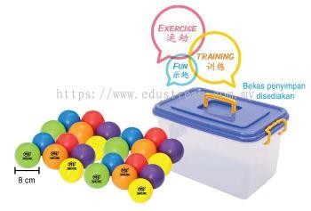 P063(B) Colourful Soft Ball Set