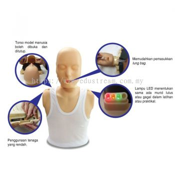 E101 MODEL MANUSIA CPR ELEKTRONIK