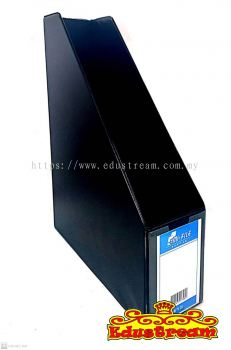 EMI PVC BOX FILE / DOCUMENT DESK BOX (BLACK)
