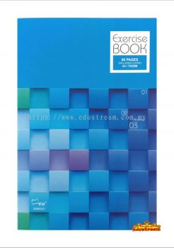 Uni Exercise Book / Note Book Cover A4 70gsm  80 pages