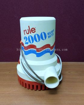 RULE 2000 HEAVY DUTY PUMP MODEL 10 IGNITION PROTECTED