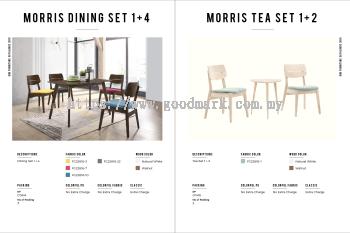 Morris dining set 1+4