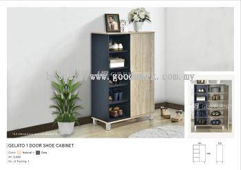 Gelato 1 door shoe cabinet