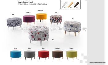 Mario Round stool
