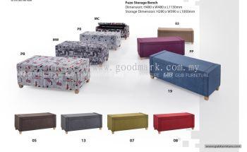 Fuzo storage bench
