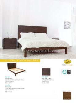 YU King+Queen bed size