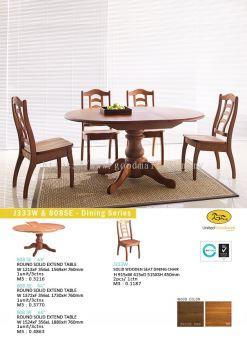 J333W & 808SE - Dining series