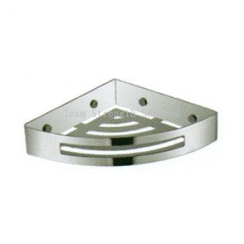 LTNSS8136A S/STEEL 304 CORNER SHELF (MATT)