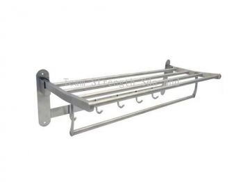 LTN-8010A 304 S/STEEL TOWEL RACK