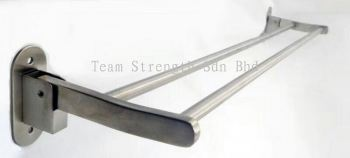 LTN-8117A 304 S/STEEL TOWEL RACK