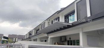 Special design pergola awning @ Jalan Pauh Kijang 2, Off Jalan Meru Klang, Selangor.