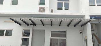 Special Design Pergola Awning @ Jalan Flora 3E/16, Bandar Rimbayu, 42500 Telok Panglima Garang.