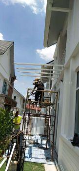 Special Hanging Pergola Acp Awning @ Jalan Setia Tropika U13/18U, Setia Eco Park, 40170 Shah Alam, Selangor.
