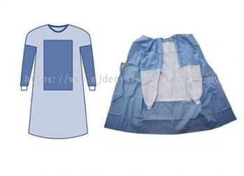 NON-STERILISED SURGICAL GOWN, 45gsm MJ