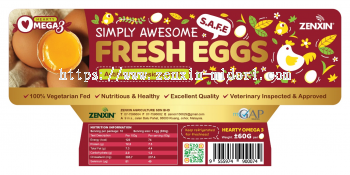 Hearty Omega 3 Simply Awesome Fresh Eggs