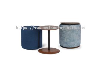 ZANI STOOL & TABLE SET
