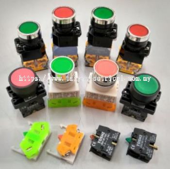 22mm PUSH BUTTON CONTROLLER SWITCHES