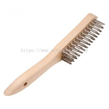 Hand Scratch Brush With Straight Wire