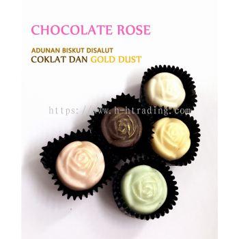 Kuih Raya Coklat Ros Cookies
