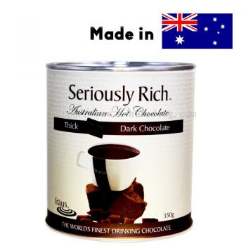Seriously Rich Fraus Thick Classic Dark Chocolate Cocoa Drinks Powder