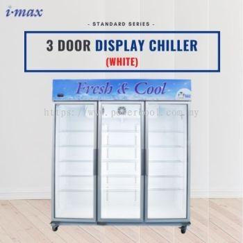 White 3 Door Display Chiller (Standard)