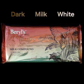 BERYL'S - Dark / Milk / White Compound 1KG