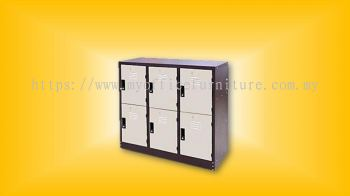 HALF HEIGHT 6 COMPARTMENT (RM 475.00/UNIT)
