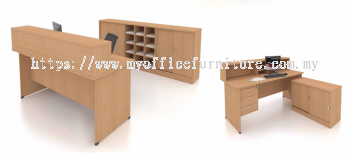 MY-FO RECEPTION 4' COUNTER (RM 608.00/SET)