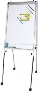 FLIP CHART BOARD WITH CASTOR (RM 342.00/UNIT)