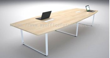 MY-SBC BOAT SHAPE MEETING TABLE WITH SQUARE LEG (RM 726.00/UNIT)