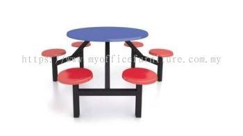 MY-RF01 6 SEATER FIBREGLASS TABLE (RM 2,107.00/UNIT)
