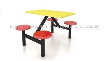 MY-RF02 4 SEATER FIBREGLASS TABLE (RM 1,189.00/UNIT)