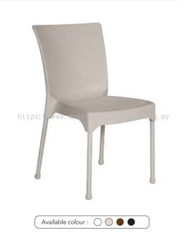 MY-2036 PLASTIC CHAIR WITH STEEL LEG (RM 69.00/UNIT)