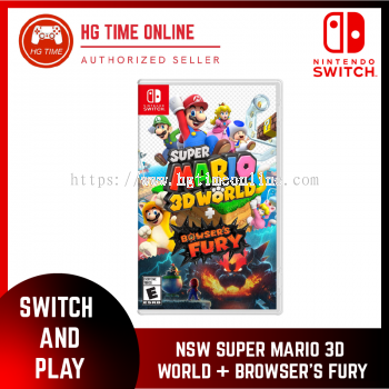 Nintendo Switch Super Mario 3D World + Bowser's Fury | NSW Game