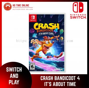 NSW Nintendo Switch Crash Bandicoot 4 : It's About TIme
