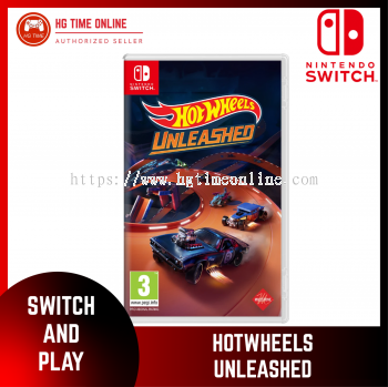 [PRE ORDER] NSW Nintendo Switch HOT WHEELS UNLEASHED | ESTIMATE RELEASE SEPTEMBER 2021
