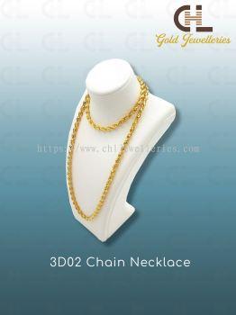 3D02 CHAIN NECKLACE