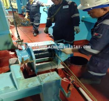 Install Winch Sling Wire on Winch Motor