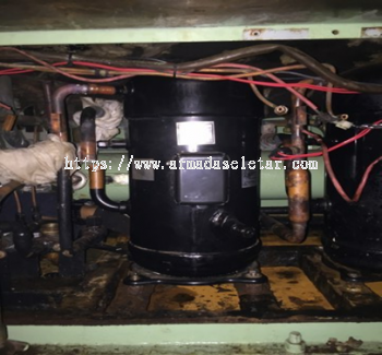 CCR Aft Package Air Cond Repair Work