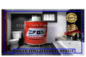 PVC GLUE ORANGE 500GM NO.70