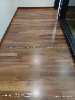 Parquet Flooring - Teak Wood