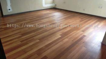 Parquet Flooring - Kempas Wood