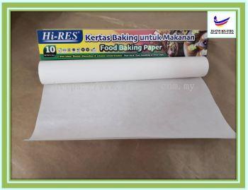 Food Baking Paper 10 m - Yu Fook Paper Sdn Bhd