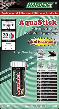 HARDEX AQUASTICK STEEL UNDERWATER EPOXY COMPOUND AS 2 PVC AND METAL EPOXY PUTTY STICK UNDERWATER