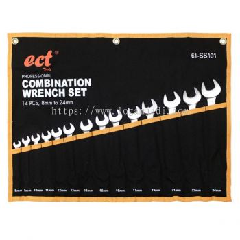 ECT 14 PCS COMBINATION WRENCH SET 8 TO 24 MM