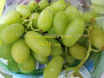 Geen seedless grape