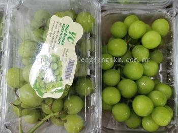 Green seedless grape Rm28/pck