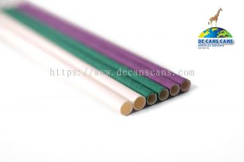 Paper straw (Colour paper)
