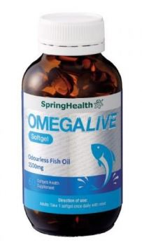 SPRING HEALTH OMEGALIVE (60��S)