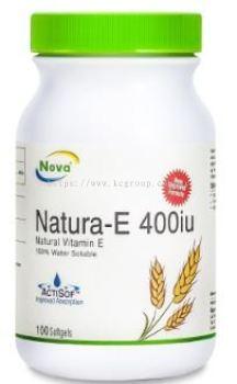 NOVA Natura-E 400iu (100's)